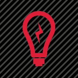 bulb, effect, idea, ideas, knowledge, light icon