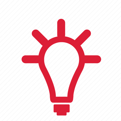 about, bulb, idea, ideas, information, light icon