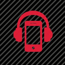 headphone, iphones, listen, music, songs icon