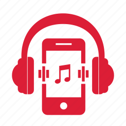 headphone, headphones, iphone, music, musical, phone, songs icon