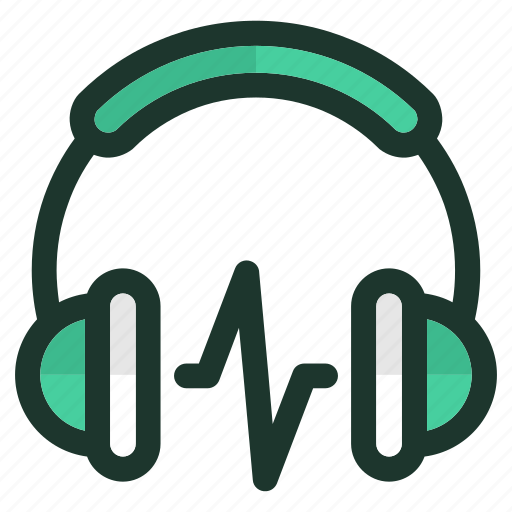 audio, device, headphone, media, mobile, music, play icon