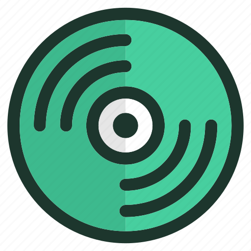 device, mobile, music, record, smartphone, technology, video icon