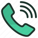 call, cell, communication, iphone, mobile, smartphone, telephone icon