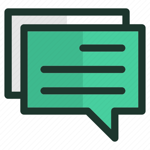 chat, communication, conversation, email, message, mobile, smartphone icon