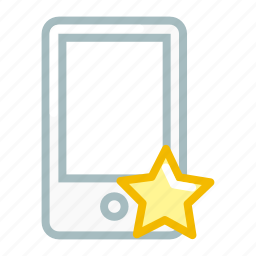 bookmark, device, favourite, like, mobile, phone, smartphone icon