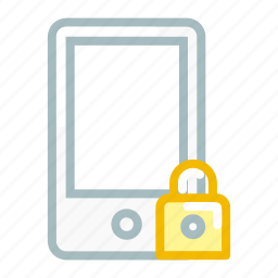 device, lock, mobile, phone, secure, security, smartphone icon