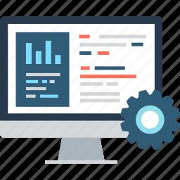 code, coding, command, config, development, gear, setting icon