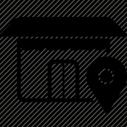 location, market, shop, store icon
