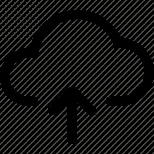cloud, server, up, upload icon