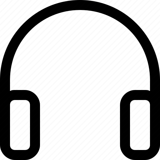 headphone, headset, music, song icon
