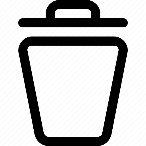 bin, delete, tool, trash icon
