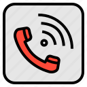 application, call, communication, phone, telephone icon
