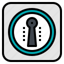 key, lock, password, safe, security icon