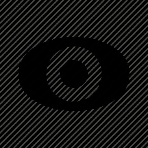 eyes, lock, secure, see, sneak icon