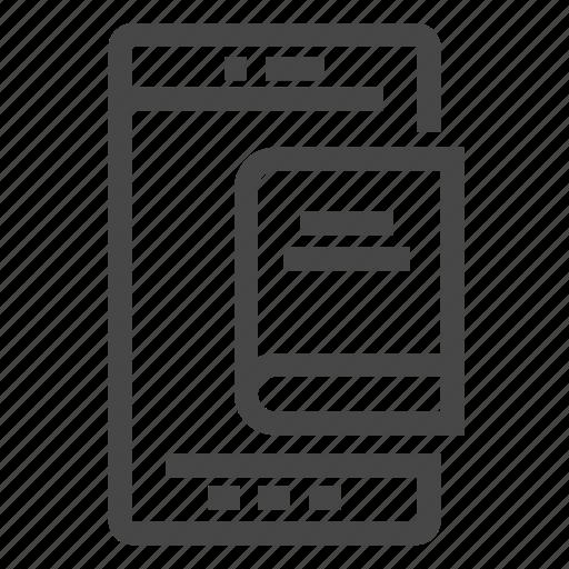 application, apps, book, ebook, mobile, reader, textbook icon