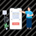 quick response code, matrix barcode, qr code reader, barcode, mobile qr icon
