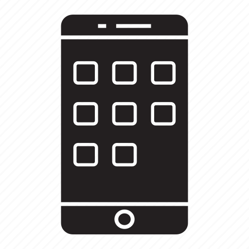 app, menu, mobile, phone, smartphone icon