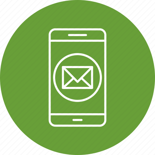 app, message, mobile icon