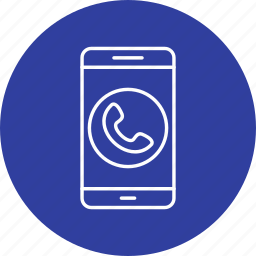 app, call, mobile icon