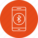 app, bluetooth, mobile icon