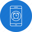 alarm, app, mobile, phone icon