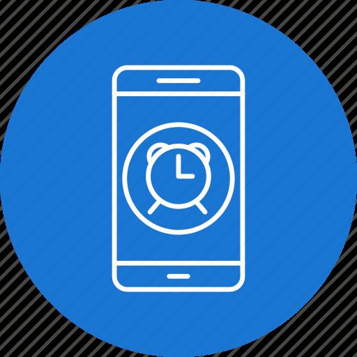 alarm, app, mobile icon