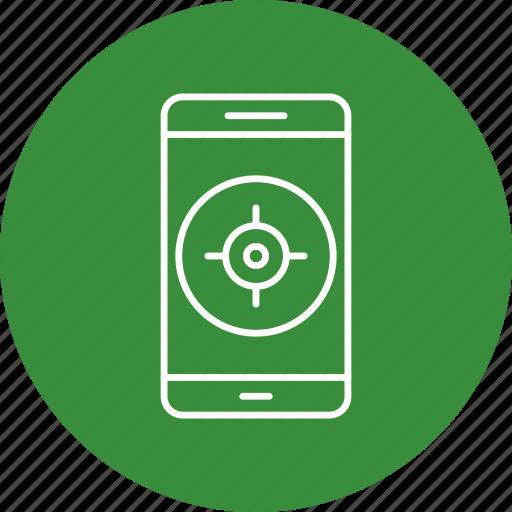 app, gps, mobile, phone icon