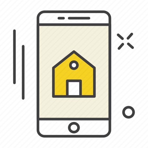 app, communication, home, mobile, phone, technology, ui icon
