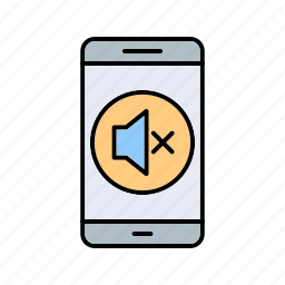 app, mobile, silent icon