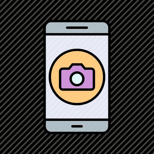 app, camera, mobile icon