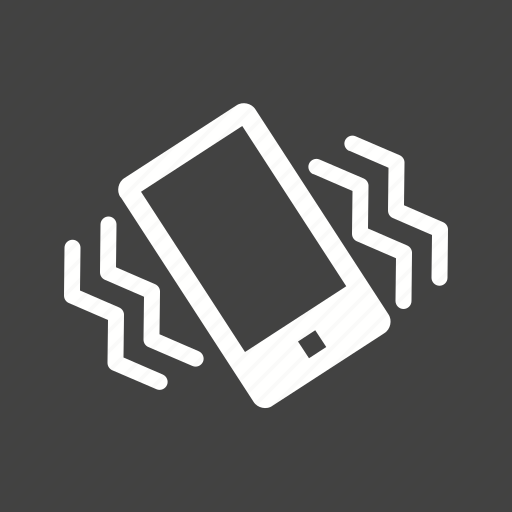 Cell, mobile, mode, phone, silent, vibrate, vibration icon - Download on Iconfinder