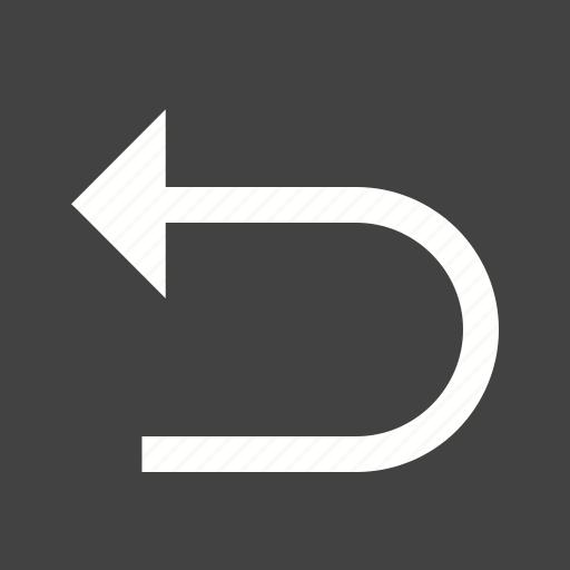 arrow, back, backward, left, move, previous icon
