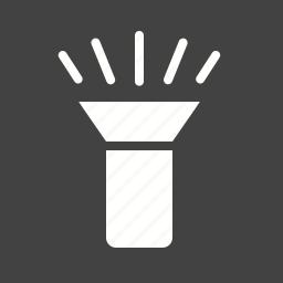 bulb, flash, flashlight, lamp, led, light, spotlight icon