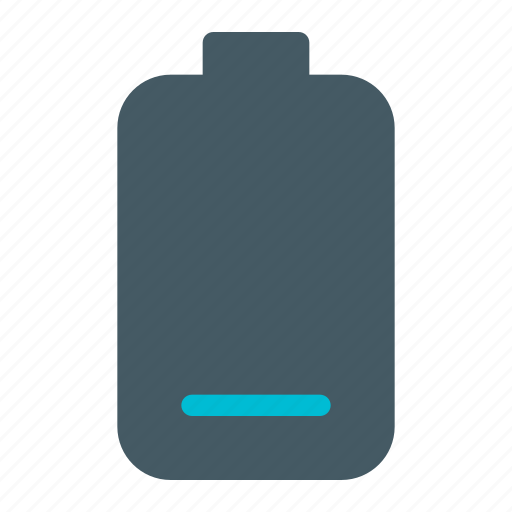 battery level, discharging, indication, low battery, notification, power, rechargeable icon