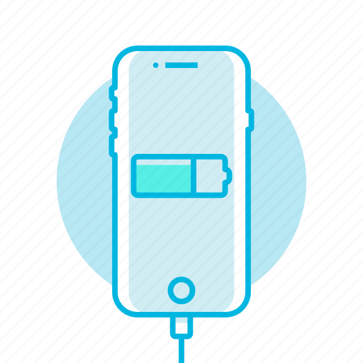 battery, charge, mobile, phone icon