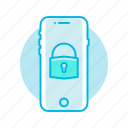 lock, mobile, phone, security, unlock icon