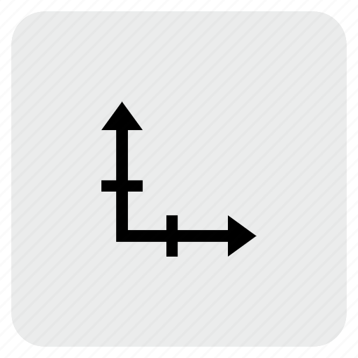 axis, chart, coordinates, graphic icon