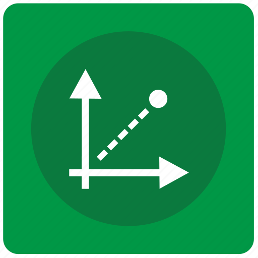axis, chart, coordinates icon