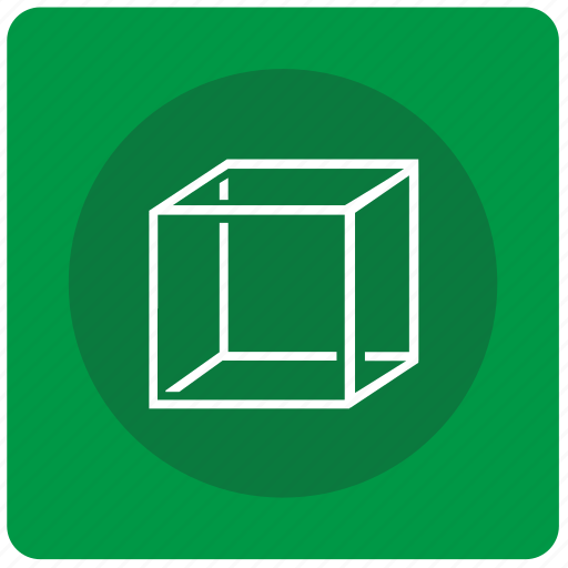 complex, cube, figure, form, geometry, square icon