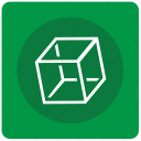 complex, cube, figure, geometry, object icon