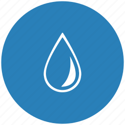blue, drop, ink, oil, round, water icon