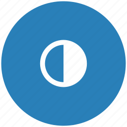 blue, color, configuration, options, round, settings icon