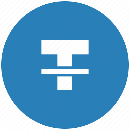 blue, format, letter, round, strikethrough, text icon