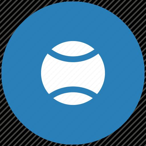 ball, blue, game, round, sport, tennis icon