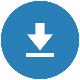 blue, format, letter, lowcase, round, text icon