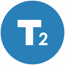 blue, edit, format, number, round, text icon