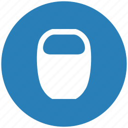 blue, fitness, kettlebell, round, strong, weight icon