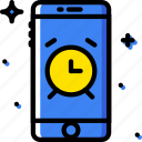 alarm, communication, function, mobile icon