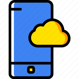 communication, function, mobile, phone, storage icon