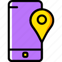 communication, function, location, mobile, phone icon